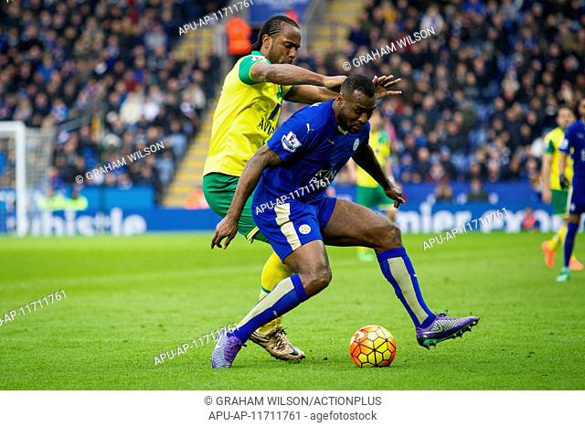 2016 Barclays Premier League Leicester v Norwich Feb 27th. 27.02.2016. King Power Stadium, Leicester, England. Barclays Premier League
