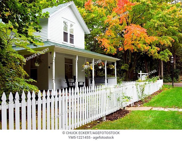 Bed and Breakfast in Door County, Wisconsin, Lundberg Guest House, Fish Creek, Wisconsin, Door County, USA