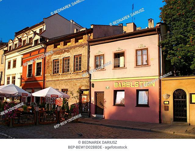 Kazimierz quarter. Cracow, Lesser Poland Voivodeship, Poland