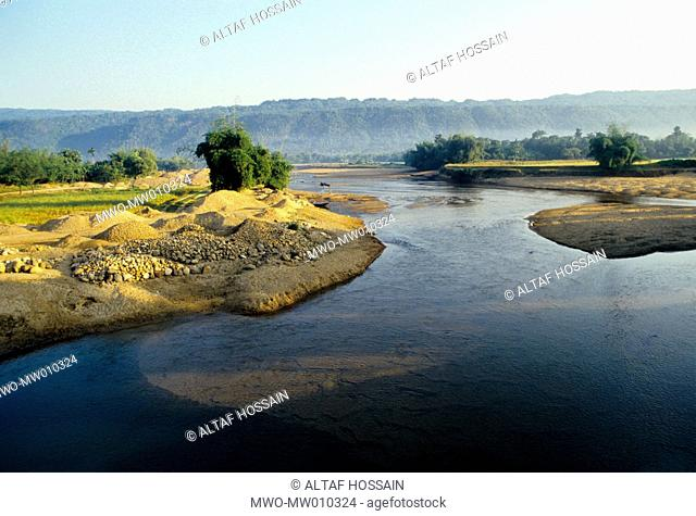 Piyain River is a tributary of the Surma River, and originates from the Umgat river of Assam The Umgat's source is from the hilly areas of Assam Flowing south