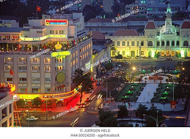 VMN Vietnam Ho Chi Minh City Saigon Rex HotelVMN Vietnam Ho Chi Minh City Saigon Rex Hote twilight