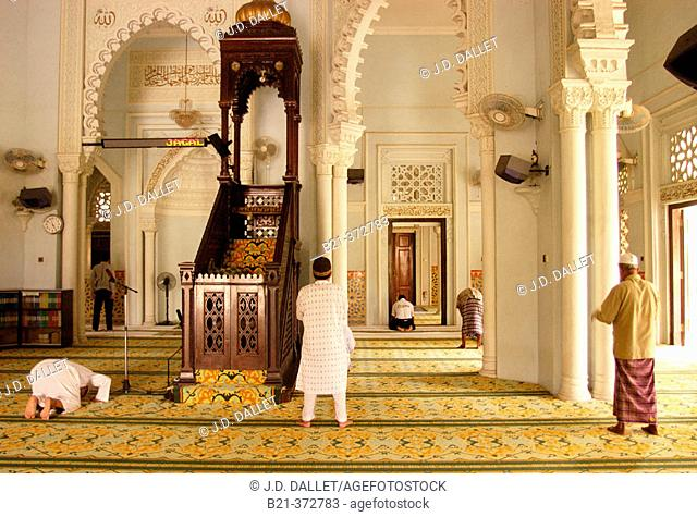 Malaysia. Kedah. Majid Zahir Mosque in Alor Setar