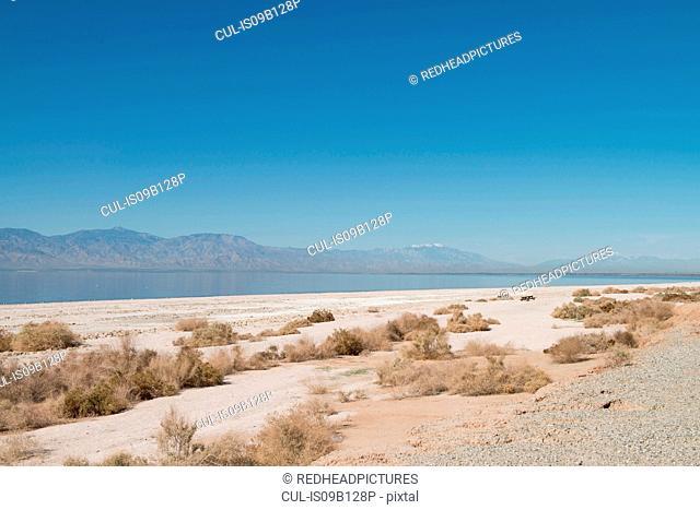 Landscape view, Salton Sea, California , USA