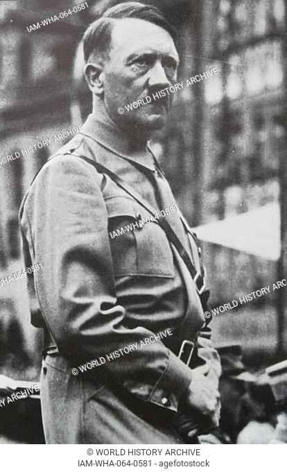 Adolf Hitler ([1889 – 1945) Austrian-born German politician who was the leader of the Nazi Party. He was chancellor of Germany from 1933 to 1945 and Führer...