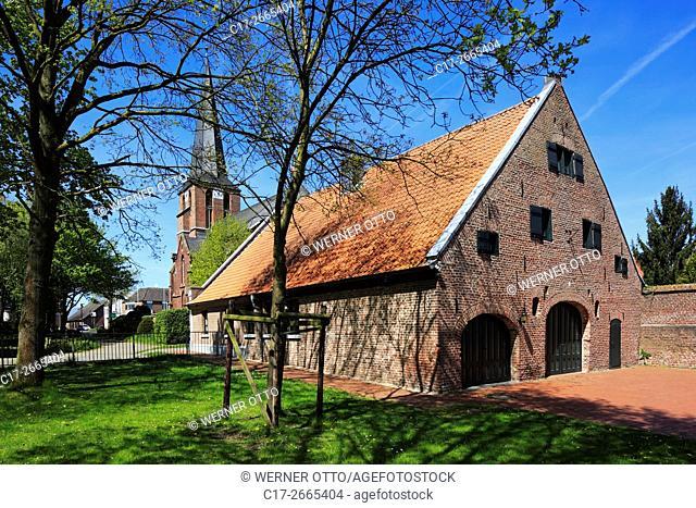 Germany, Nettetal, Maas-Schwalm-Nette Nature Park, Schwalm-Nette Nature Park, Lower Rhine, Rhineland, North Rhine-Westphalia, NRW, Nettetal-Leuth, Neyenhof