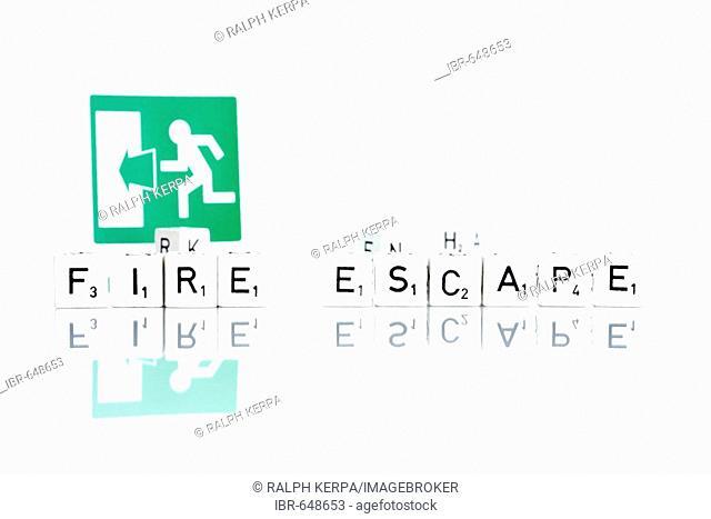 Sign: Fire Escape