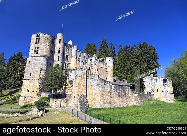 Europe, Luxembourg, Grevenmacher, Beaufort Castle