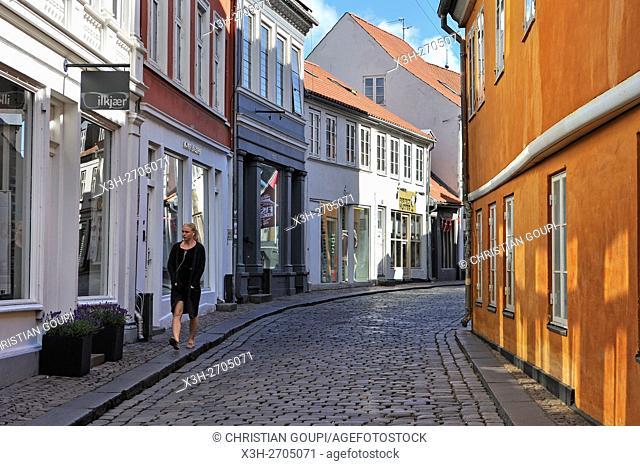 Volden street, Aarhus, Jutland Peninsula, Denmark, Northern Europe