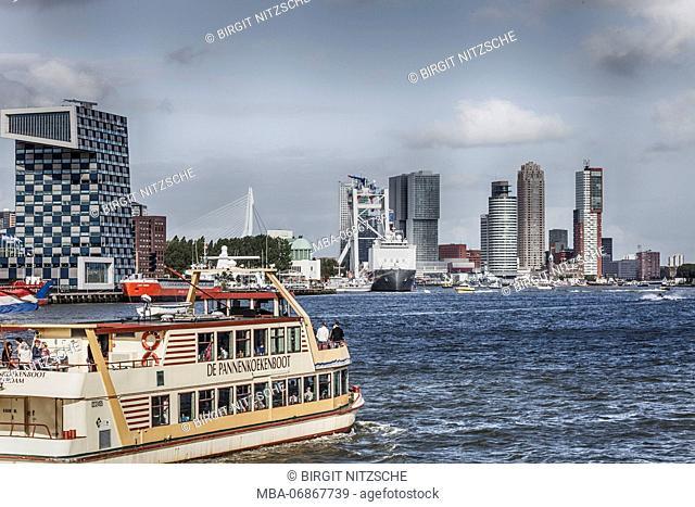 Pannekoekenboat in Rotterdam