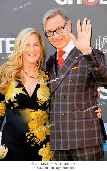 Laurie Feig and Paul Feig at the Los Angeles Premiere of Columbia Pictures' Ghostbusters held at TCL Chinese Theater in Hollywood, CA, July 9, 2016