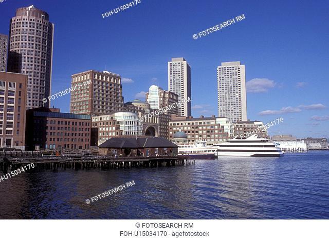 Boston, Massachusetts, The skyline of downtown Boston from the Boston Harbor