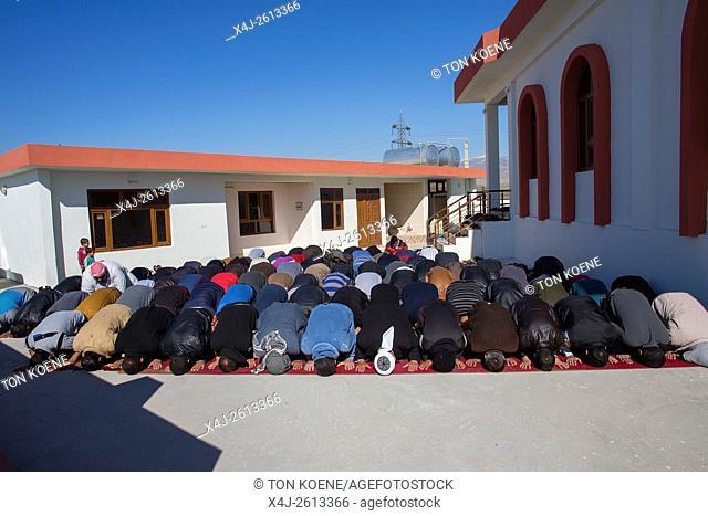 Mosque in Barika refugee camp, Sulaimaniyah, Northern Iraq