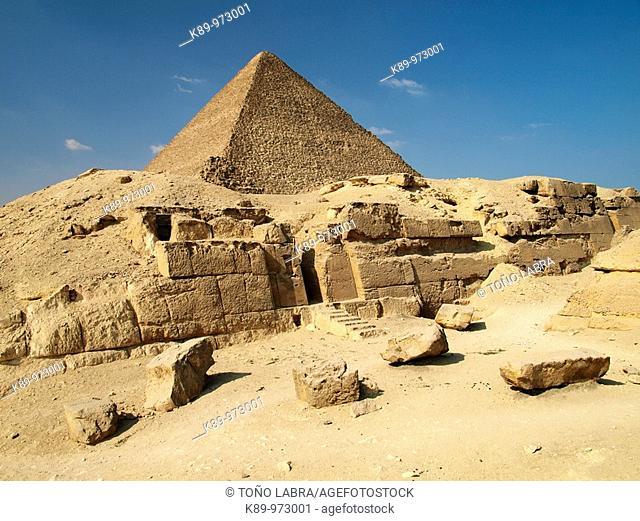 Pirámides Giza, El Cairo, Egipto