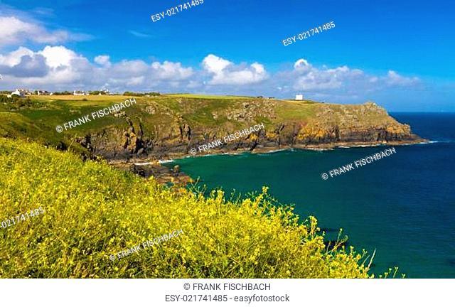 Cove near Lizard Lighthouse, Cornwall, England