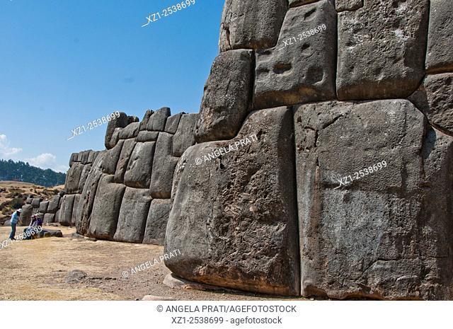 Sacsaywaman archeological site, Cusco, Peru