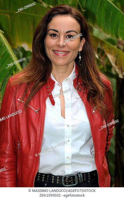 Maria Rosaria Carli; Carli; actress; celebrities; 2015;rome; italy;event; photocall; una casa nel cuore