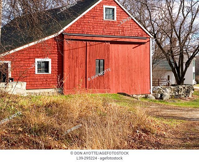 Barn. Westford, Massachusetts. USA
