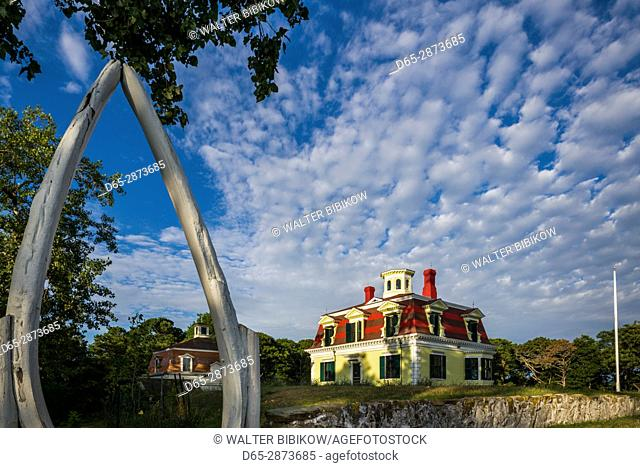 USA, Massachusetts, Cape Cod, Eastham, Fort Hill, Captain Penniman House, 1867 former home of whaler Edward Penniman
