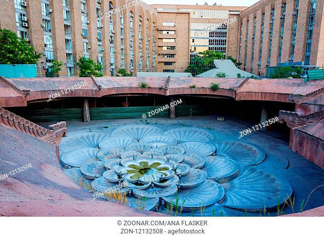 Fountain by the Republic square metro station, Yerevan, Armenia