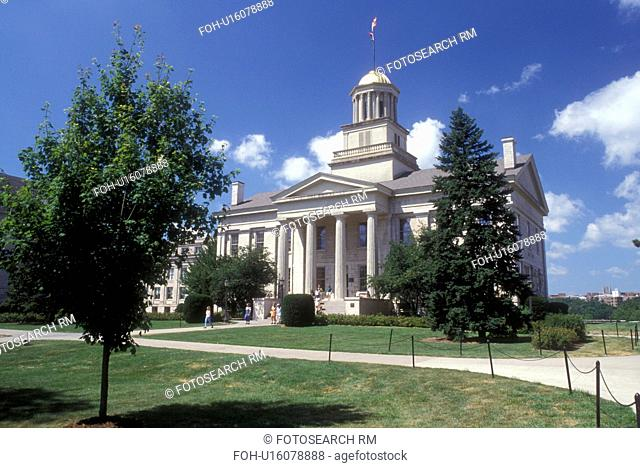 Iowa, Iowa City, Old State Capitol at University of Iowa in Iowa City