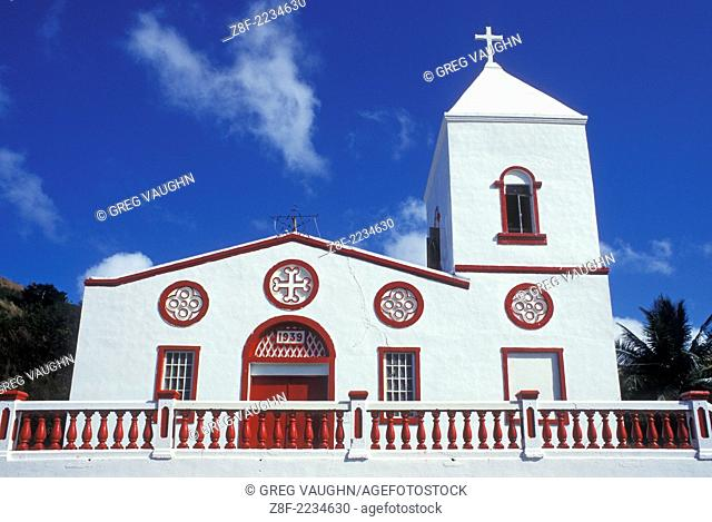 San Dionisio Church in the village of Umatac on the island of Guam