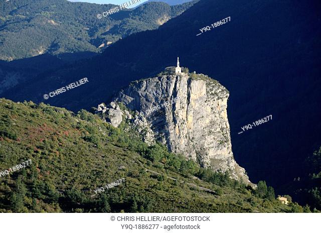Rock of Castellane Verdon Gorge Alpes-de-Haute-Provence Provence France
