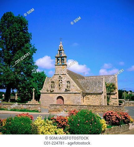 Pors Even Chapel . Paimpol. Bretagne. France