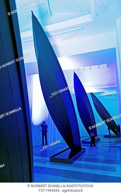 Europe, Italy, Veneto, Venice, classified as World Heritage by UNESCO. Venice Biennale exhibition