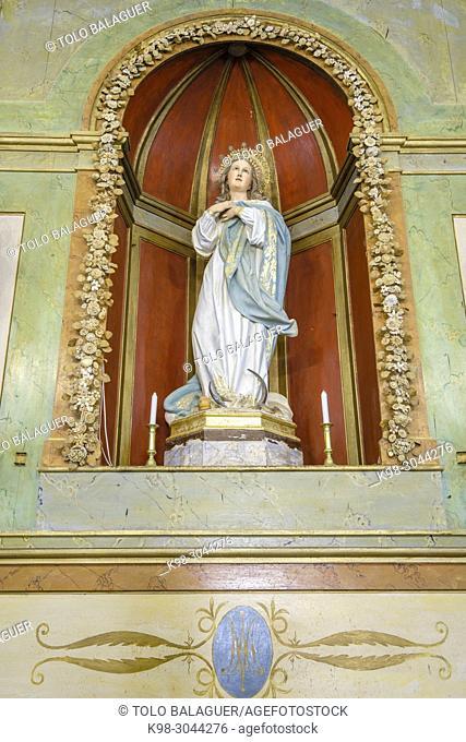 oratorio de la Inmaculada Concepción, 1817, Son Negre, Felanitx, Mallorca, balearic islands, Spain