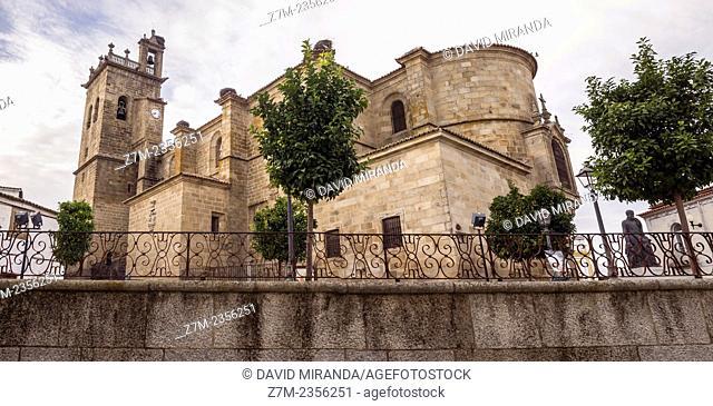Church of Santa María la Mayor de la Asunción, Brozas, Cáceres province, Extremadura, Spain