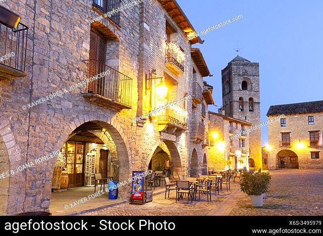 Ainsa village, Huesca, Spain
