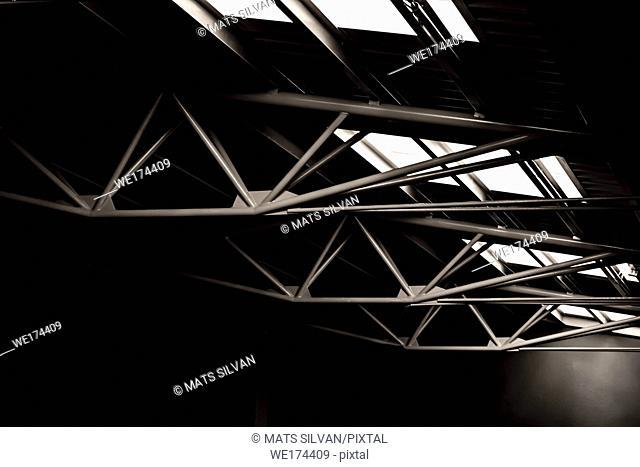 Retro Built Structure in Switzerland