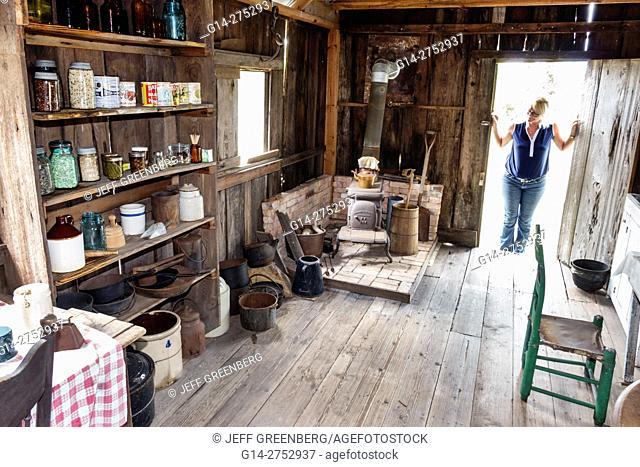 Florida, Palm Coast, Florida Agricultural Museum, living history museum, farm homestead, Depression Era, restored, dry goods store