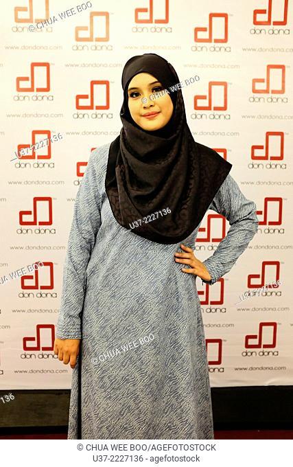 Ramadhan fashion show in Islamic Shopping Complex, Kuching, Sarawak, Malaysia