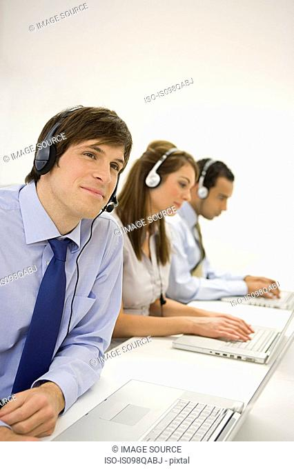 Call centre workers