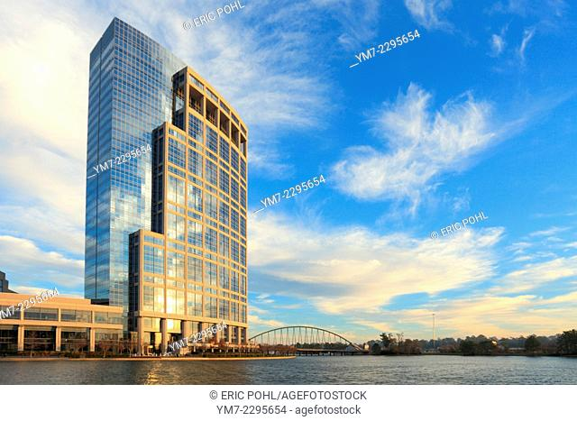 Anadarko tower the woodlands Stock Photos and Images | age