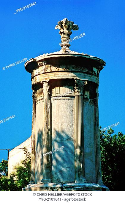 Choragic Monument of Lysicrates (c4th BC) Athens Greece