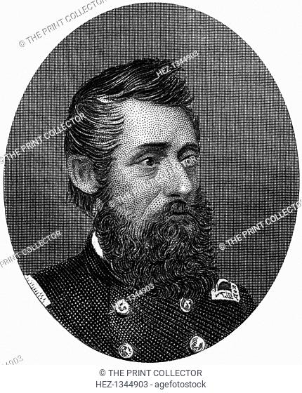 General Benjamin Henry Grierson, Union cavalry general, 1862-1867. In 1863 Grierson (1826-1911) commanded the operation known as Grierson's Raid