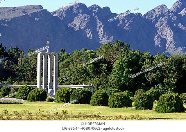 Huguenot Monument, Franschhoek, Western Cape