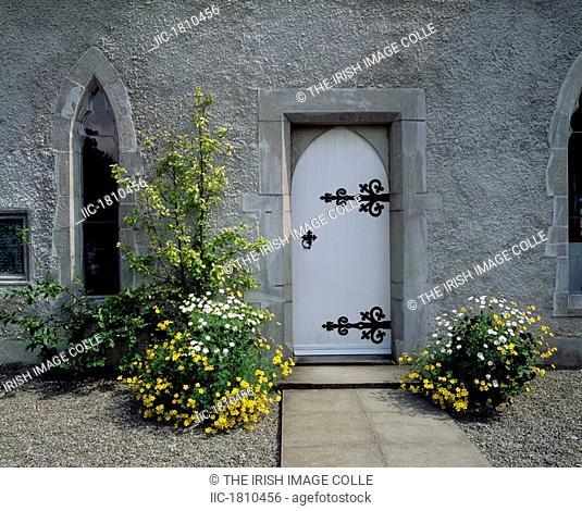 Door to Museum, Lodge Park, Straffan, Co Kidare, Ireland