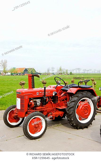 tractor, Noord Holland, Netherlands