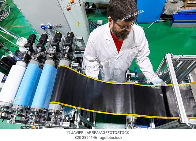 Buckypapers continuous manufacturing plant, sheets composed of carbon nanotubes, based on a safe-by-design concept. Carbon nanotubes have extraordinary...