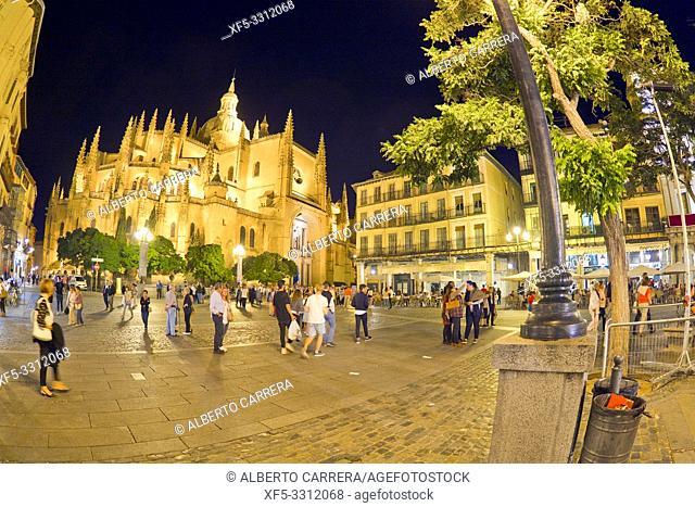 Cathedral of Segovia, Santa Iglesia Catedral de Nuestra Señora de la Asunción y de San Frutos, 15-18th Century Gothice Style