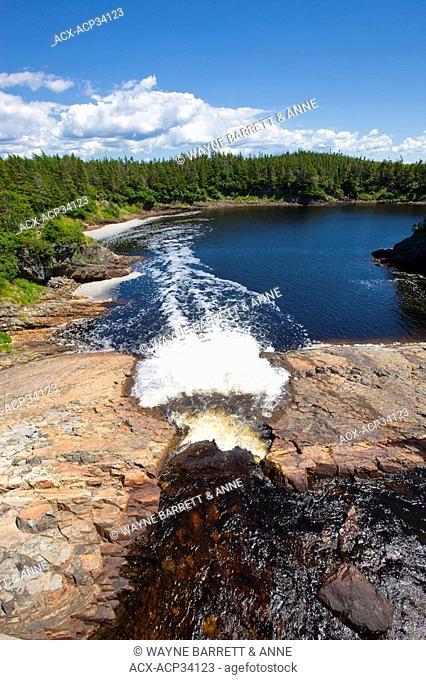 Rocky River Fishway, Newfoundland, Canada