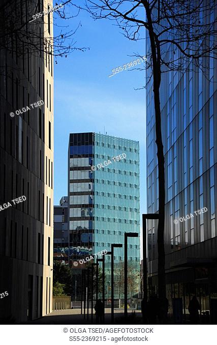 Modern buildings. Barcelona, Catalonia, Spain