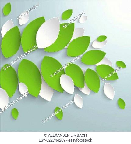 Green Leaves Limb Background PiAd