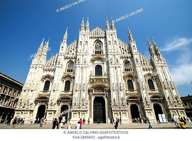 Milan Cathedral, Piazza Duomo, Milano, Lombardy, Italy