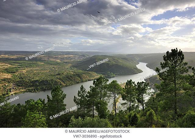 The Tagus river at Vila Velha de Rodão, where begins the International Tagus Natural Park, a very rich region in neolithic rock engravings