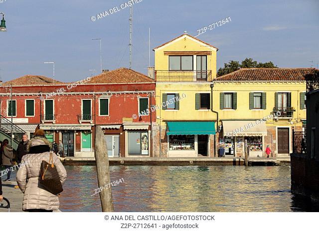 Murano island Venice Italy