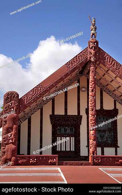 Maori Haus in Rotorua
